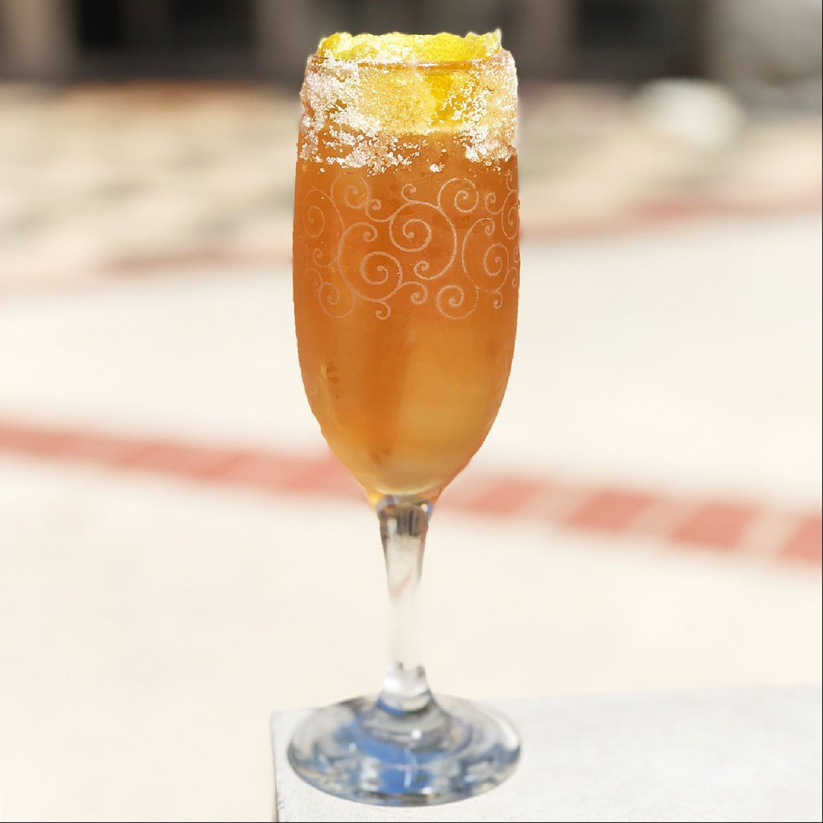 A classic New Orleans cocktail that predates even the Sazerac. It's notable that we call it a Brandy Crusta, as -- much like many other drink categories -- the