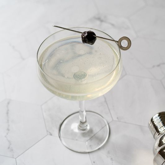 A recipe created in 1915, before America's cocktail lovers found themselves in the throes of Prohibition, The Last Word was served at the Detroit Athletic Club by a bartender named Frank Fogarty and continues to be one of the most enduring and successful drinks of the era. By the time World War II happened, it had mostly fallen out of favor, continuing to be cited in some mid-century cocktail books but not being called for at many bars, but then Murray Stenson of Seattle's Zig Zag Café revived the recipe for his patrons, and the drink quickly regained its place among classic forms that invite modification and improvisation. Equal parts gin, green chartreuse, Luxardo Maraschino liqueur, and fresh lime juice, this balance beauty will delight drinkers of all stripes.