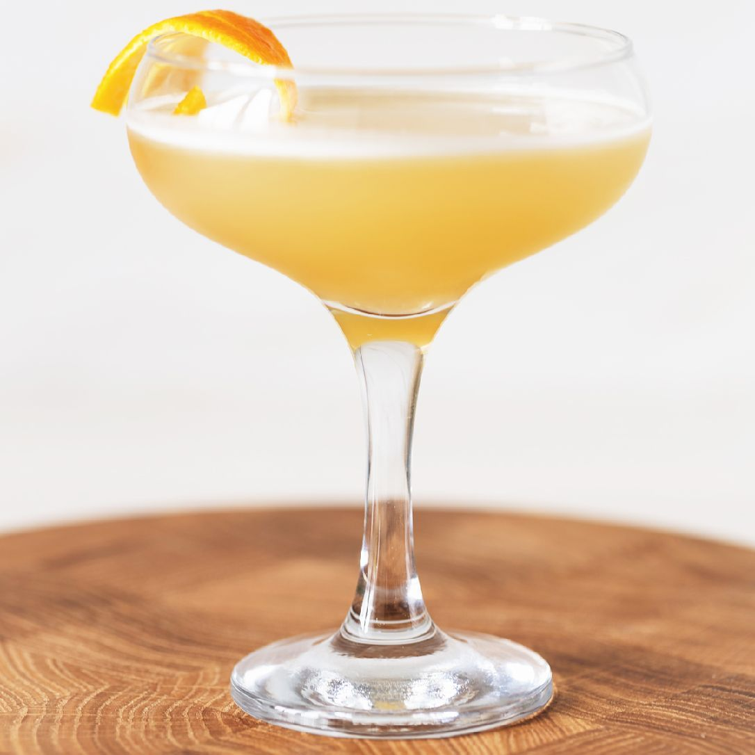 The drink that proves Scotch and Irish whiskeys can play well together. Cameron's Kick first appeared in Harry's ABC of Making Cocktails by Harry MacElhone, published in 1922 then again in Killer Cocktails by David Wondrich in 2005.