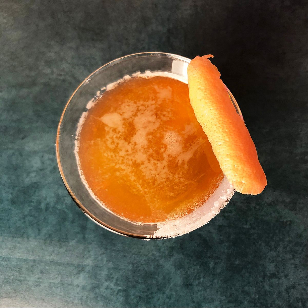 The Sidecar is a true classic and a must-try as you journey through the greatest cocktail sours. It's a brandy-based cocktail that got its name from either a French or English bar (depending on whom you ask) that invented the drink for a customer who arrived in a motorcycle sidecar when he frequented the spot. When we made this cocktail recently, a guest said,