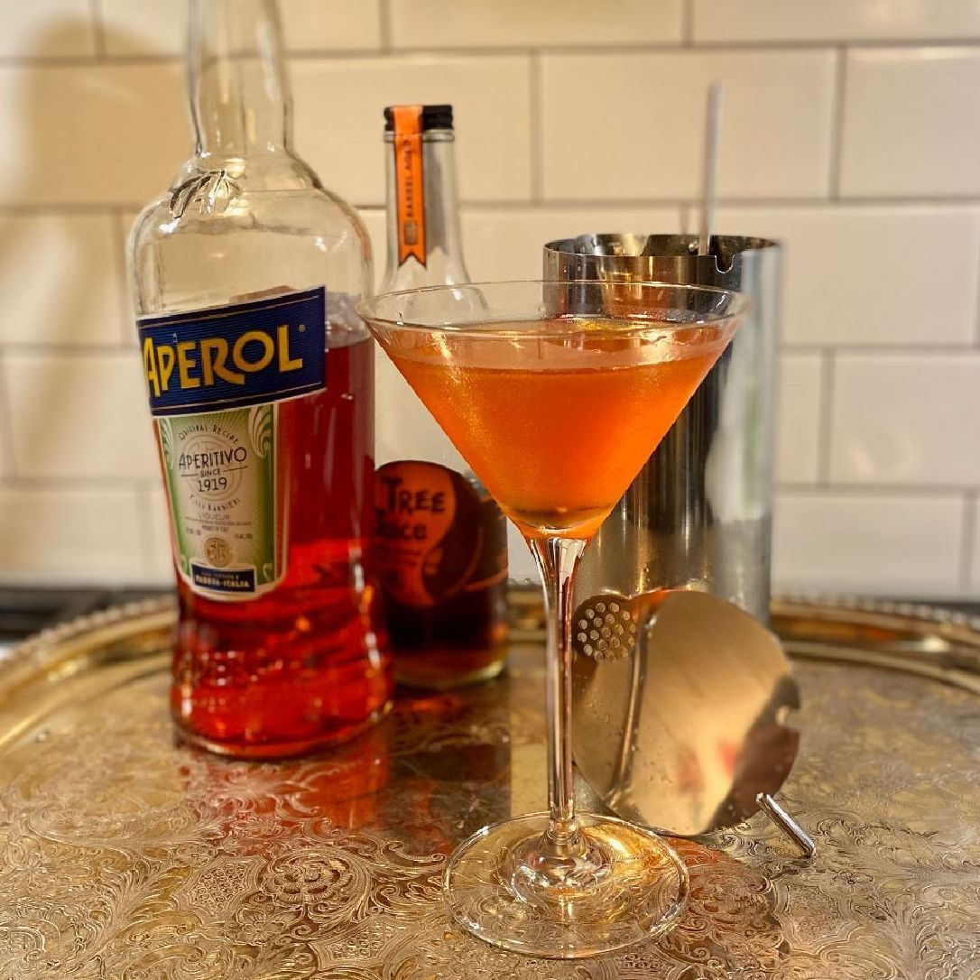 A bittersweet ode to the turning of the leaves in rural Vermont. As a bartender at Cafe Luxembourg on the Upper West Side of NYC, I was given a lot of freedom to experiment and test drink recipes on a nightly basis. We would change the specialty cocktail menu seasonally, and I was happy when this got picked up for our fall menu. I was just getting into experimenting with ingredients that weren't found on your typical bar (honey, salt, sherry, etc) and really found this to be an indulgent, but sophisticated incorporation of one of my favorite substances ever: maple syrup!