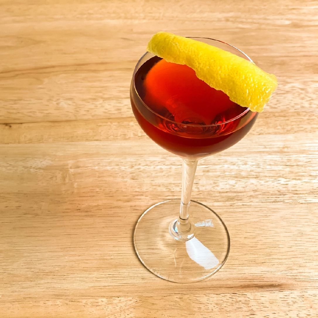 Don't be fooled! A Boulevardier is not just a Negroni made with whiskey. It's like a Negroni took a gap year and came back all grown up and interesting. Don't get us wrong. We love a Negroni. But there is something slightly more complex and richer in the flavor of a Boulevardier. You just have to try it.