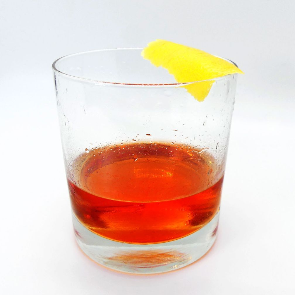 The Sazerac is the quintessential New Orleans cocktail. In fact, it is the official cocktail of the state of Louisiana. If you order one today it will be made with Rye Whiskey. But originally the drink was made with Cognac. In the late 1800's the vineyards of France were devasted by Phyloxera. With no grapes to produce Brandy, the existing bottles became both very rare and very expensive. Like water off a duck's back, those in NOLA were unphased. They just grabbed the widely available Rye Whiskey and continued enjoying. As popularity continued to rise, Cognac couldn't catch back up once it became available again.  Both versions are delicious but when Cognac is used, a beautiful fruit driven core is unlocked and the complexity of the bitters plays off a floral and almost pretty background. Plus it's like traveling back in time and enjoying what once was!