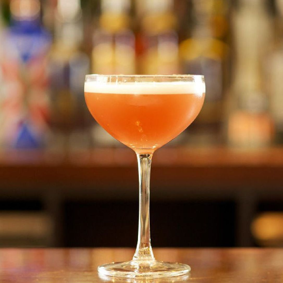 The French Martini was created in New York City in the '80s in one of British-born Keith McNally's bars, during what was truly a cocktail renaissance both in New York and London. This simple cocktail is sweet, tart, slightly creamy, and a gorgeous blush color.