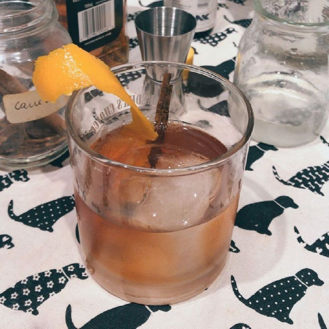 For cinnamon lovers, a twist on the classic Old Fashioned.
