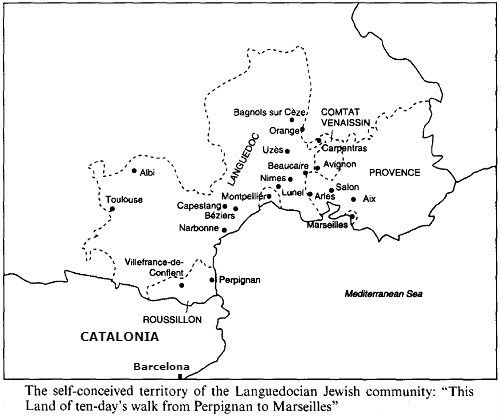 Languedoc map