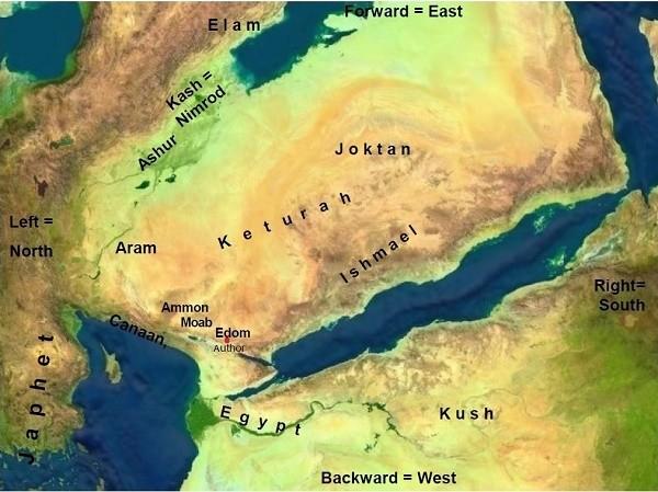 Map Genesis 10