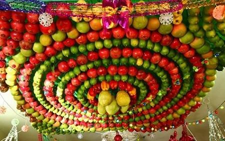 Fruity Sukkah