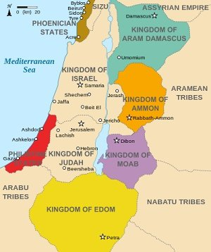 Kingdoms around Israel 830
