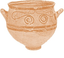 Philistine bell shaped bowl