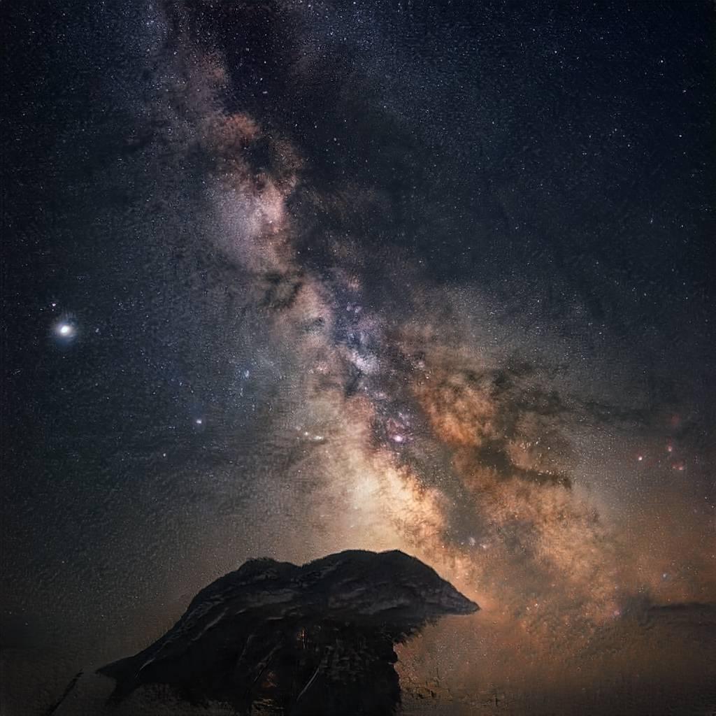 Night sky GAN