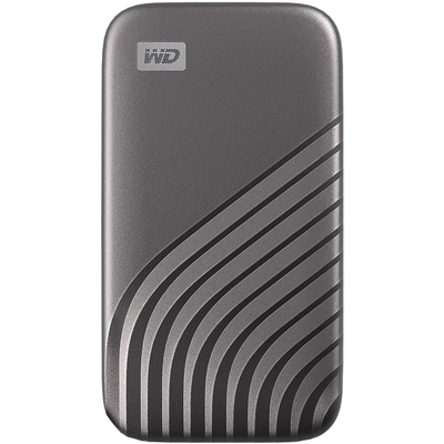 WD My Passport 1TB USB-C portable solid state drive