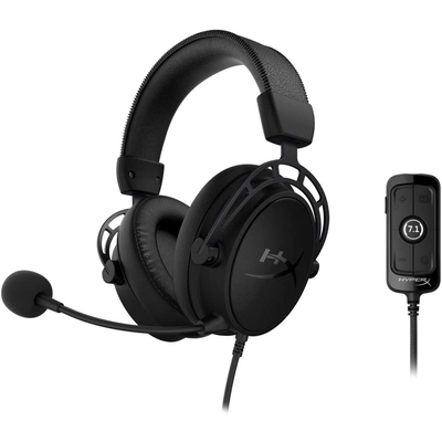 HyperX Cloud Alpha S surround sound PC gaming headset
