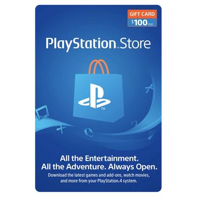 Sony PlayStation $100 gift card digital download