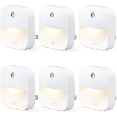 Eufy Lumi plug-in warm white LED night light 6-pack