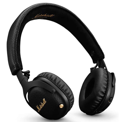 Marshall Mid active noise-cancelling on-ear Bluetooth headphones