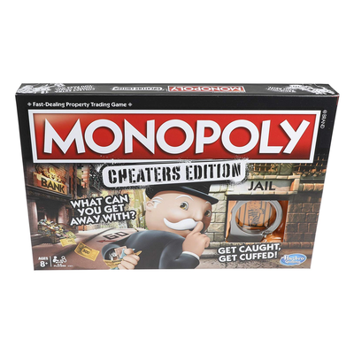Monoply: Cheaters Edition Board Game
