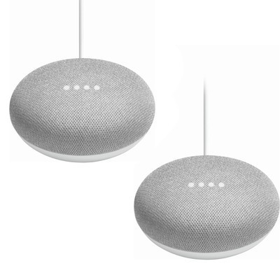 Google Home Mini, 2-pack