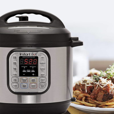 Feed the family with the 8-quart Instant Pot pressure cooker on sale for $90
