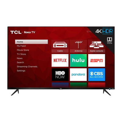 TCL 55-inch 5 Series 4K UHD HDR Smart Roku TV