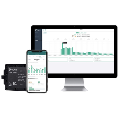 Save now and later with $40 off the Flume smart home water monitoring system