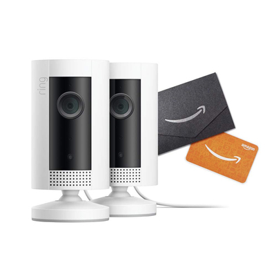 Ring indoor cam home security camera 2-pack