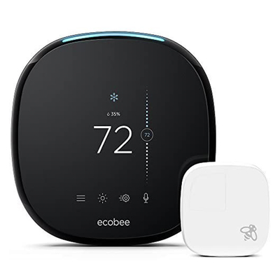 Ecobee4 smart thermostat with room sensor woot