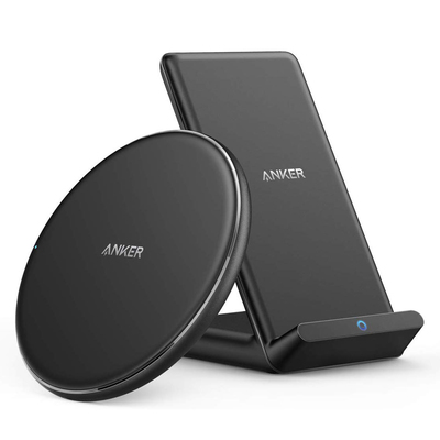 Anker PowerWave wireless charging pad and stand bundle