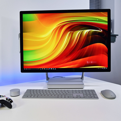 Add a renewed Microsoft Surface Studio to your desk with a further 20% off