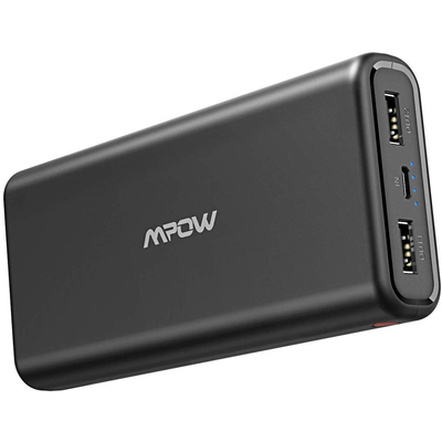 Mpow 20000mAh Dual USB high-speed portable charger