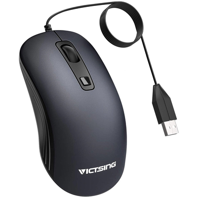 VicTsing 3200 adjustable DPI USB wired mouse