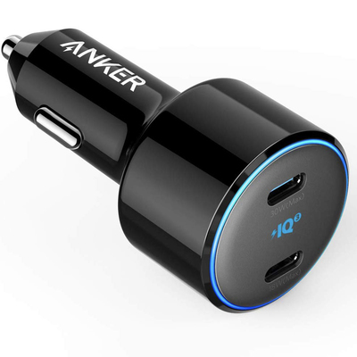 Anker PowerDrive+ III Duo 48W USB-C Power Delivery 2-port car charger