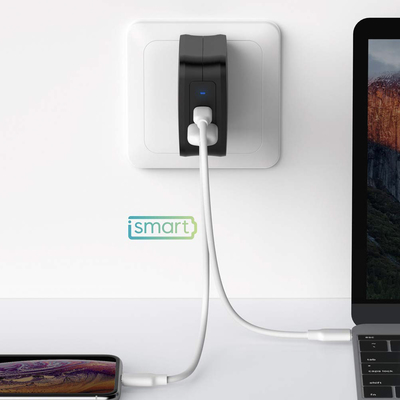 RAVPower 61W USB-C Power Delivery dual-port wall charger