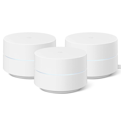 Google Wifi mesh networking system 3-pack