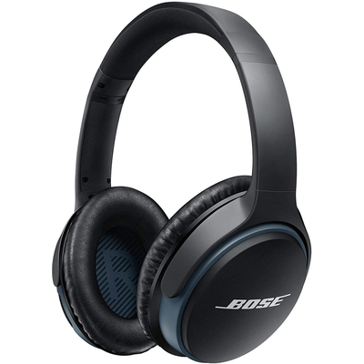 Bose SoundLink II around-ear Bluetooth headphones black