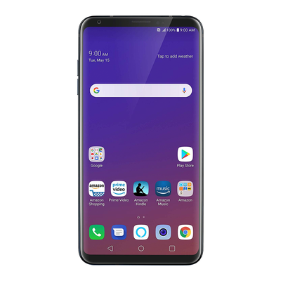 LG V35 ThinQ (Unlocked, Aurora Black)