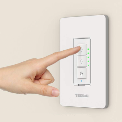 Upgrade to Tessan's 3-Way Smart Dimmer Switch today to save more than $20