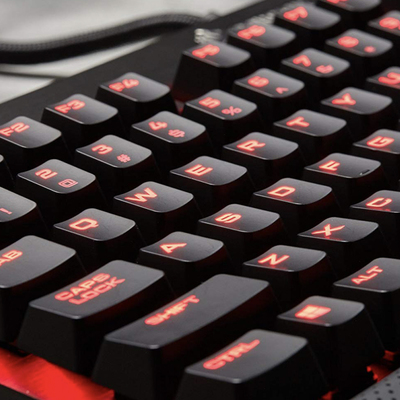 Corsair K70 Cherry MX Red mechanical gaming keyboard