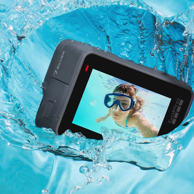Dive into any adventure with the GoPro Hero7 Silver 4K action cam at a new low price