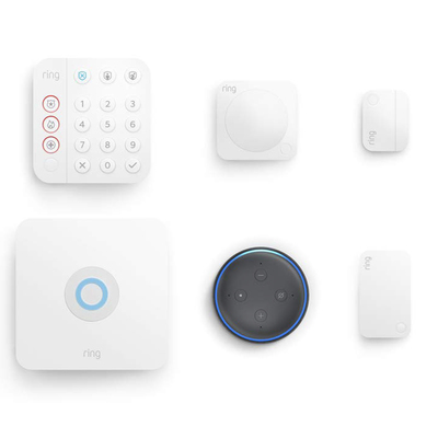Ring Alarm 2nd-generation 5-piece kit with free Echo Dot