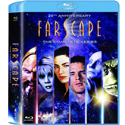 Farscape Full Series seasons 1 - 4 Blu-ray