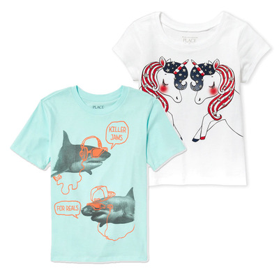 The Children's Place Graphic Tees