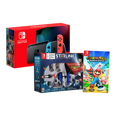 Nintendo Switch bundle with Mario + Rabbids and Starlink