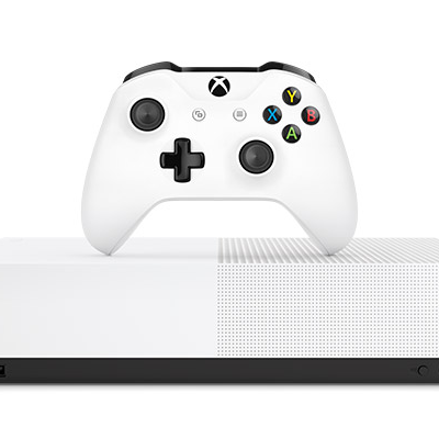 Xbox One S all-digital edition 1TB console with six games and four months Xbox Live Gold