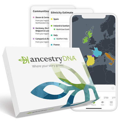 AncestryDNA: Genetic Ethnicity Test Kit