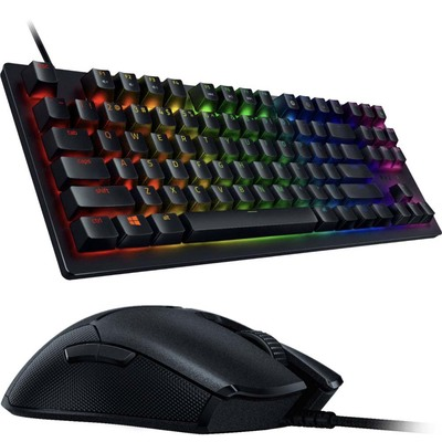Razer Huntsman Tournament Edition wired gaming keyboard with free Razer Viper wired mouse