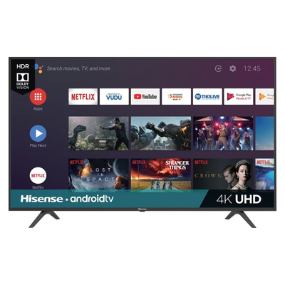 Hisense 65-inch 4K UHD Smart Android TV (H6500F Series)