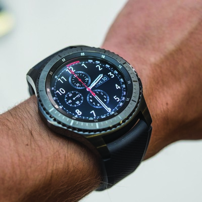 Save $70 and strap the Samsung Gear S3 Frontier Bluetooth smartwatch to your wrist