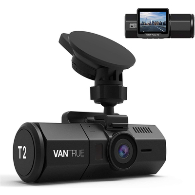 Vantrue T2 1080p dash cam with motion detection