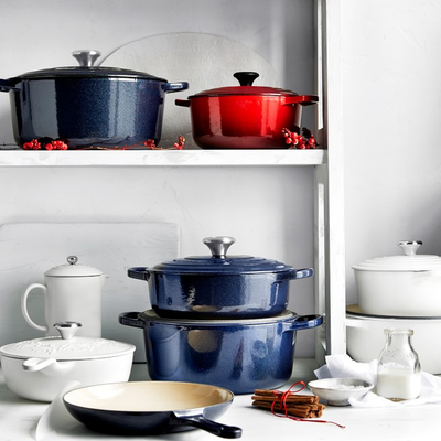 Treat your kitchen with a little love and Le Creuset's refined cookware favorites at up to 55% off